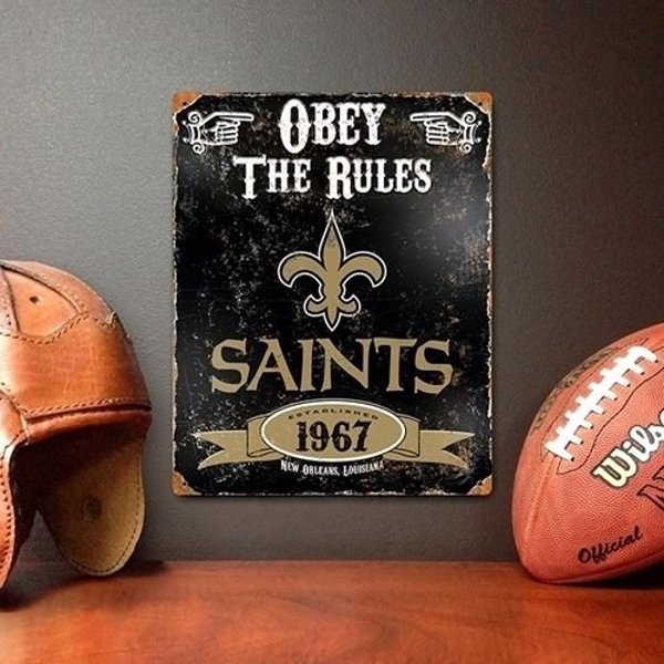 Vintage NFL Home Decor - Show your long standing team devotion