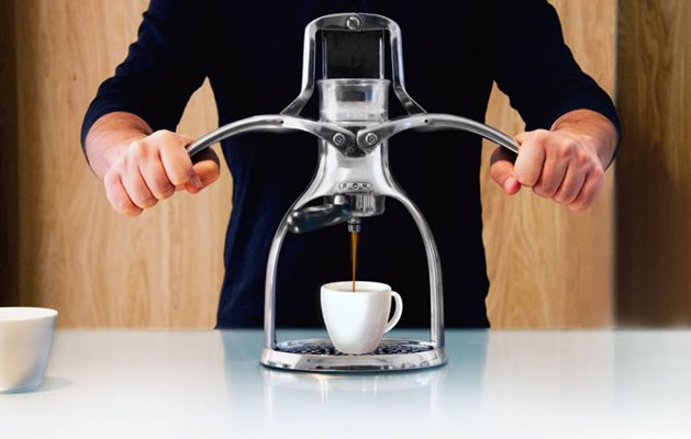 ROK Presso Manual Espresso Maker - Get retro and press your own espresso