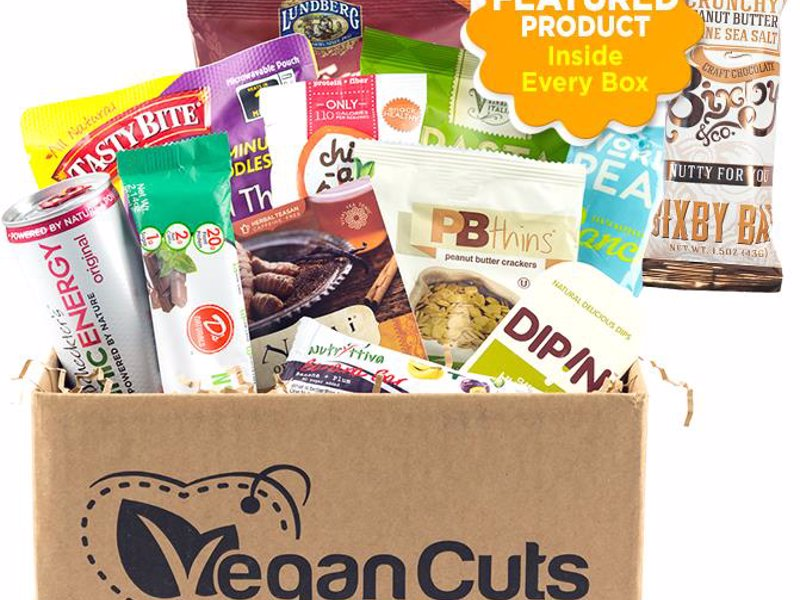 Vegan Snack Box Subscription - A monthly vegan snack box that delivers vegan goodies right to your door