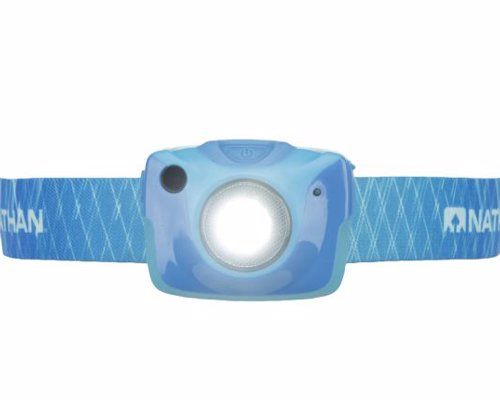 Runner's Headlamp - Stay safe with the world's first head lamp design specifically for runners
