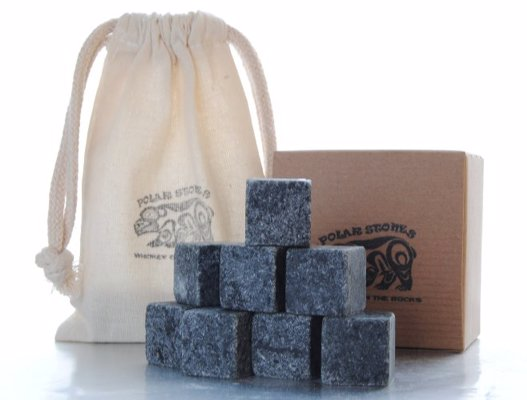 Handcrafted Soapstone Whiskey Stones - Chill your drink while adding a note of rustic sophistication