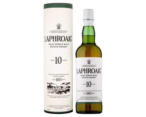 Laphroaig 10 Year Old - A selection of award winning whiskies for a range of budgets