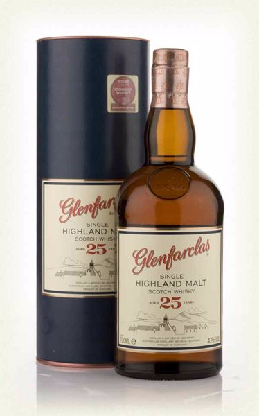 Glenfarclas 25 Year Old - A selection of award winning whiskies for a range of budgets