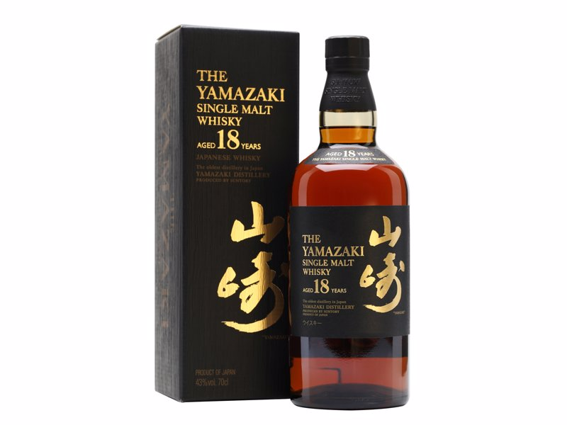 Suntory Yamazaki 18 Year Old - A selection of award winning whiskies for a range of budgets