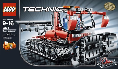 LEGO Technic Snow Groomer - Construct your own snow groomer!
