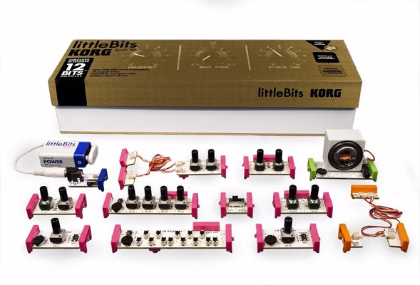 LittleBits Korg Synth Kit - Build your own synths with this infinitely customizable modular kit