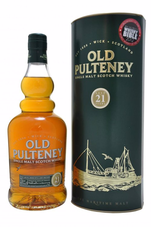 Old Pulteney 21 Years Old - A selection of award winning whiskies for a range of budgets