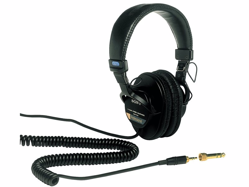 Sony MDR7506 Professional Large Diaphragm Headphone - Headphones perfect for use in the studio