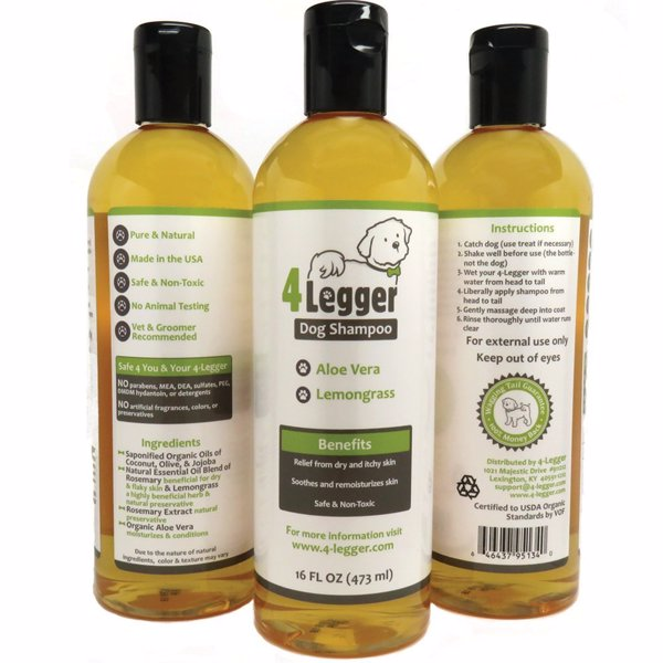 Organic Dog Shampoo - Pamper your pooch with this organic all natural dog shampoo