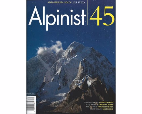 Alpinist Magazine - Alpinist magazine is an archival-quality publication dedicated to the world of adventure climbing.