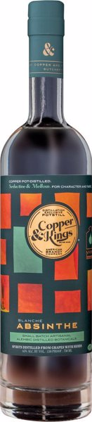 Copper & Kings Absinthe Blanche - Find fantastic small and local producers of small batch liquor