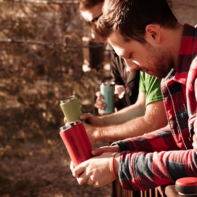 Lifeventure Thermal Mug - Never let your favourite brew get cold whilst you're collapsing camp or heading out to stock up the woodpile