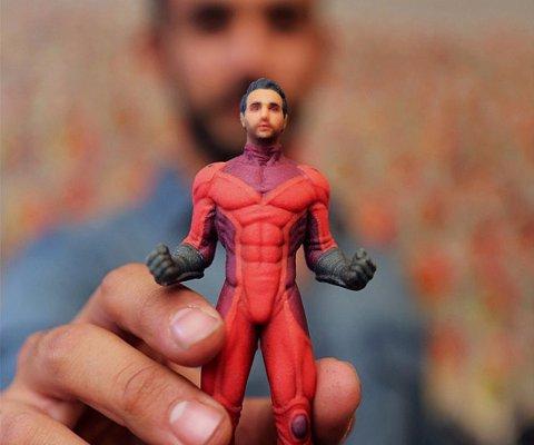 Personalized Superhero Figurine