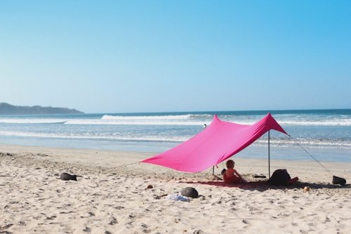Neso Portable Beach Tent - Lightweight beach shelter that's easy and fast to put up and take down