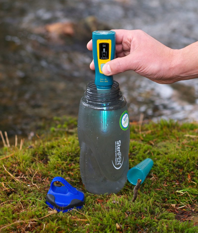 SteriPEN Handheld Water Purifier - Get clean drinking water in seconds, wherever you are, with this amazing gadget
