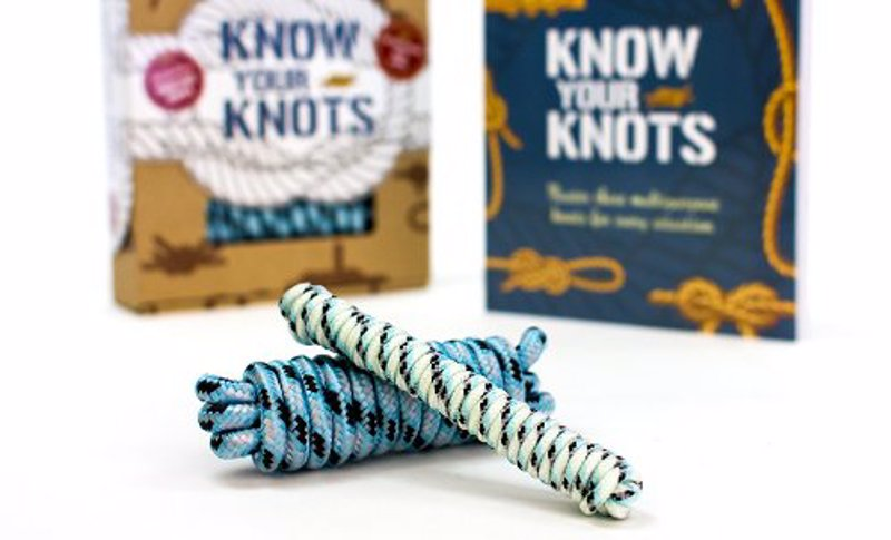 Knot Learning Kit - Learn the most practical knots and their uses, great for climbing, sailing, camping