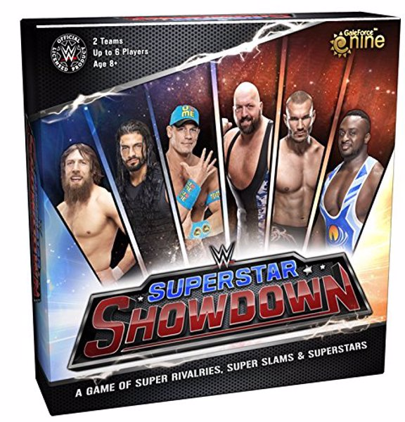 WWE Superstar Showdown Board Game - Dominate the ring in a game of  exciting card play with heart-pounding miniature combat
