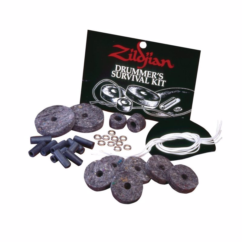 Zildjian Drummer Survival Kit - Essential bits to keep your drum kit running in any situation
