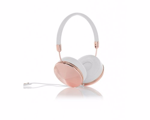Frends Rose Gold Headphones - Turn your love of music into a fashion statement with these stunning headphones