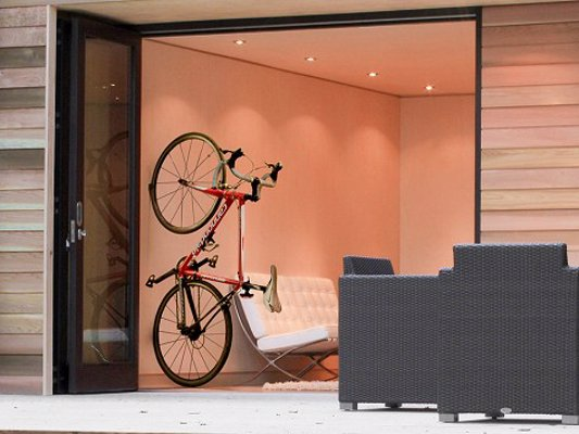 CLUG Minimalist Bike Rack - The world's smallest bike rack