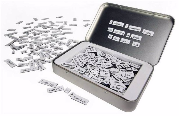 The Original Magnetic Poetry - Be a poet, and know it - in your own kitchen