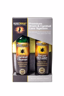 Drum & Cymbal Cleaning Kit - Keep those cymbals and drum shells nice and shiny