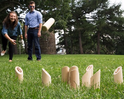 Molkky - The #1 Outdoor Game In Europe - You never knew you could have so much fun throwing blocks of wood at other blocks of wood