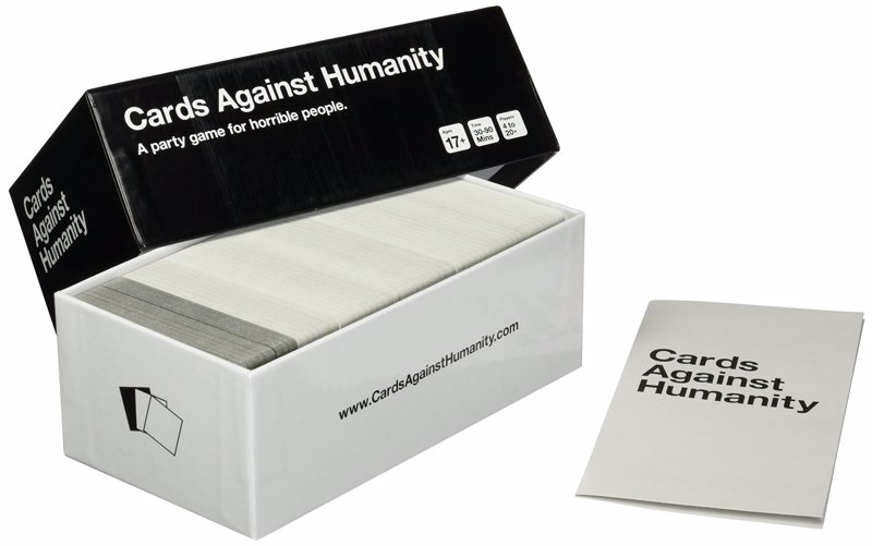 Cards Against Humanity - The immensely popular card game, strictly for people with a quite questionable, adult sense of humor
