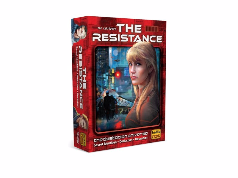 The Resistance - A social game of bluffing and deceit for 5-10 players