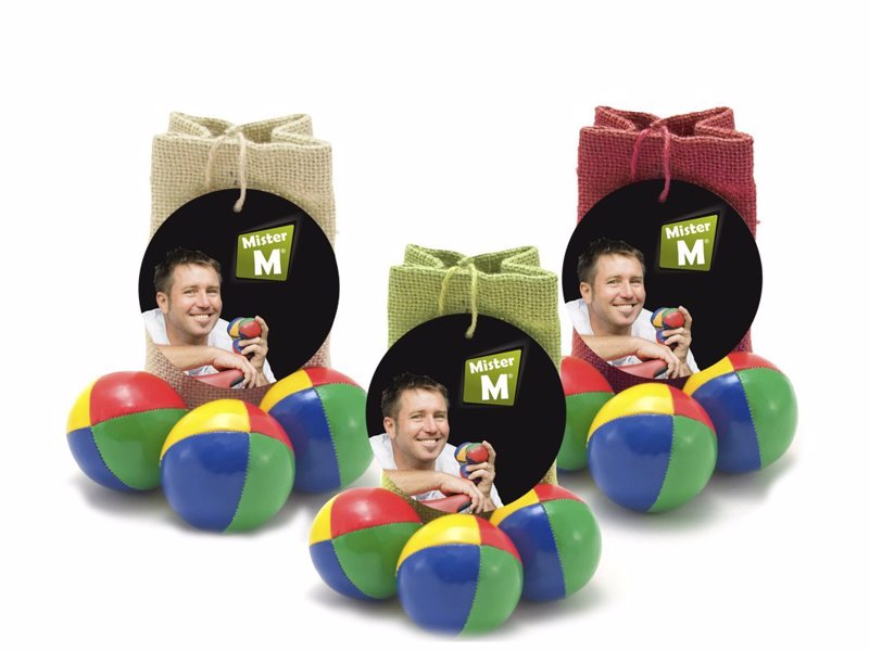 Juggling Balls - Learning to juggle is fun, easier than you think and a great activity to relax and de-stress