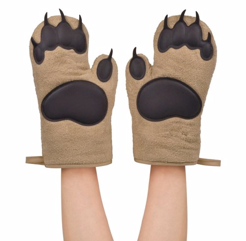 Bear Hands Oven Mitts - Don't use your bare hands, use... BEAR hands