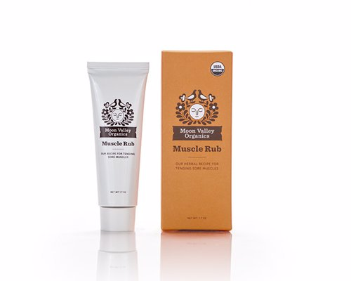 Moon Valley Organics Muscle Rub - Relieves muscle soreness after strenuous exercise