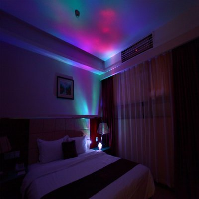 Color Changing Northern Lights Projector - Relax to the aurora borealis, great for children and adults as a sleep aid light, decorative light or mood light