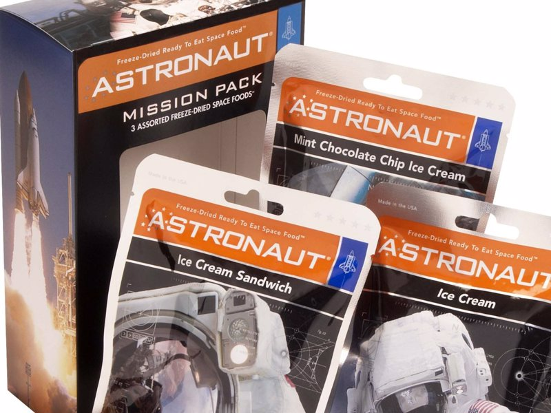 Astronaut Ice Cream - Delicious freeze-dried treats just like the astronauts eat