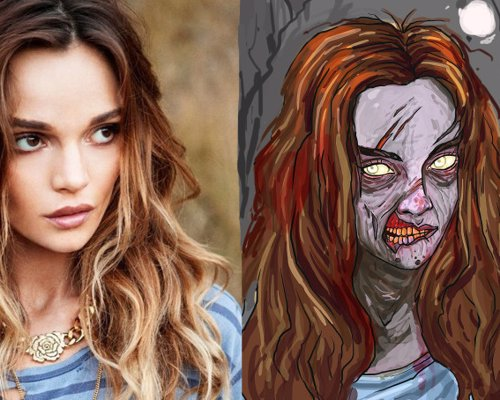 Get A Zombie Portrait Of Yourself