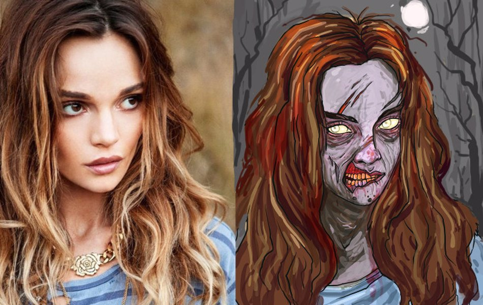Get A Zombie Portrait Of Yourself - Turn yourself or a friend into a zombie, just upload an image and an artist will zombify you