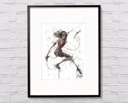 Arty Superhero Watercolor Prints
