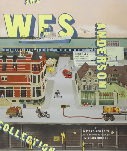 The Wes Anderson Collection - A beautifully put together book that captures the essence of Wes Anderson's films perfectly