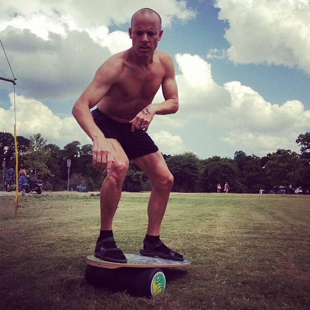 Indo Board Balance And Core Strength Trainer Expertly